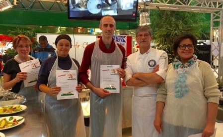 concours de cuisine centre commercial avec Didier Arnaud