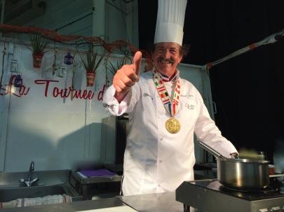 La Tournée des Chefs avec Mickael Azouz champion du monde Chocolat