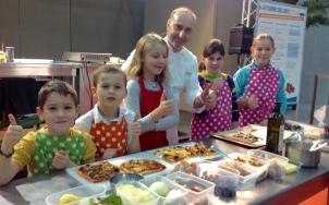 atelier culinaire enfants avec Loic Fumoleau